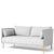 HAY Office Silhouette Sofa 2 Seater Duo Remix