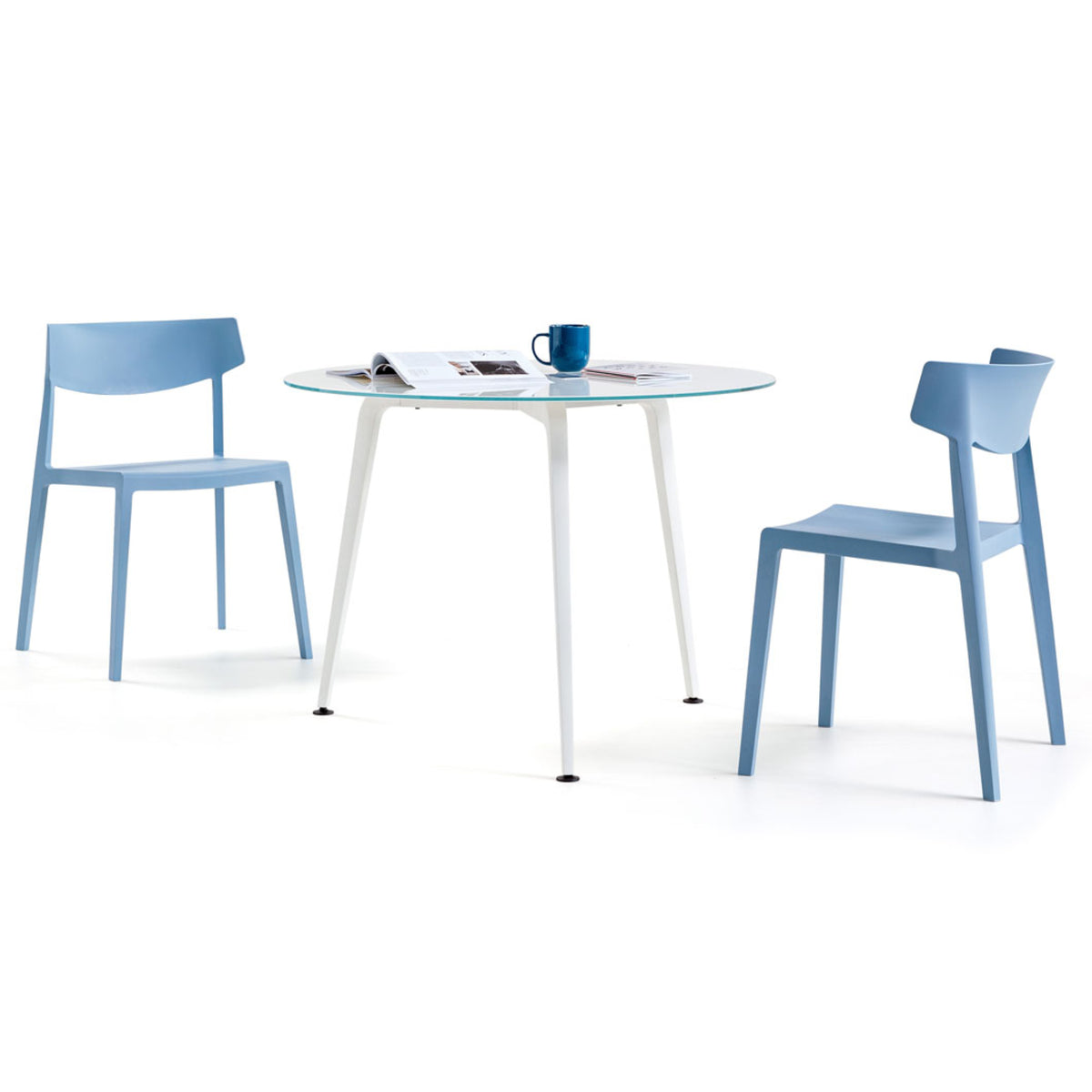 Actiu - Wing Stackable Chair - Set of Four