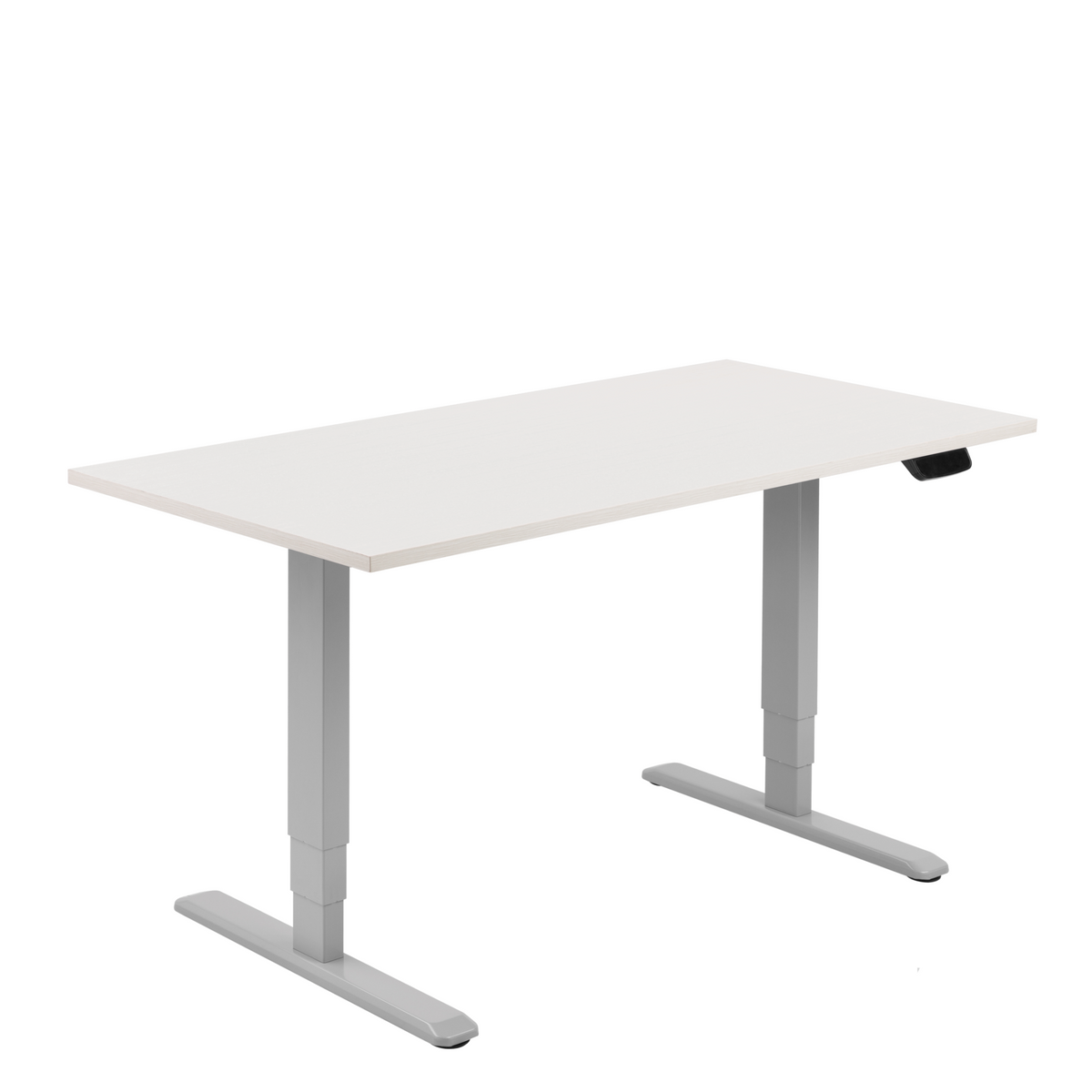 Sky Grey Office Electric Sit Stand Desk