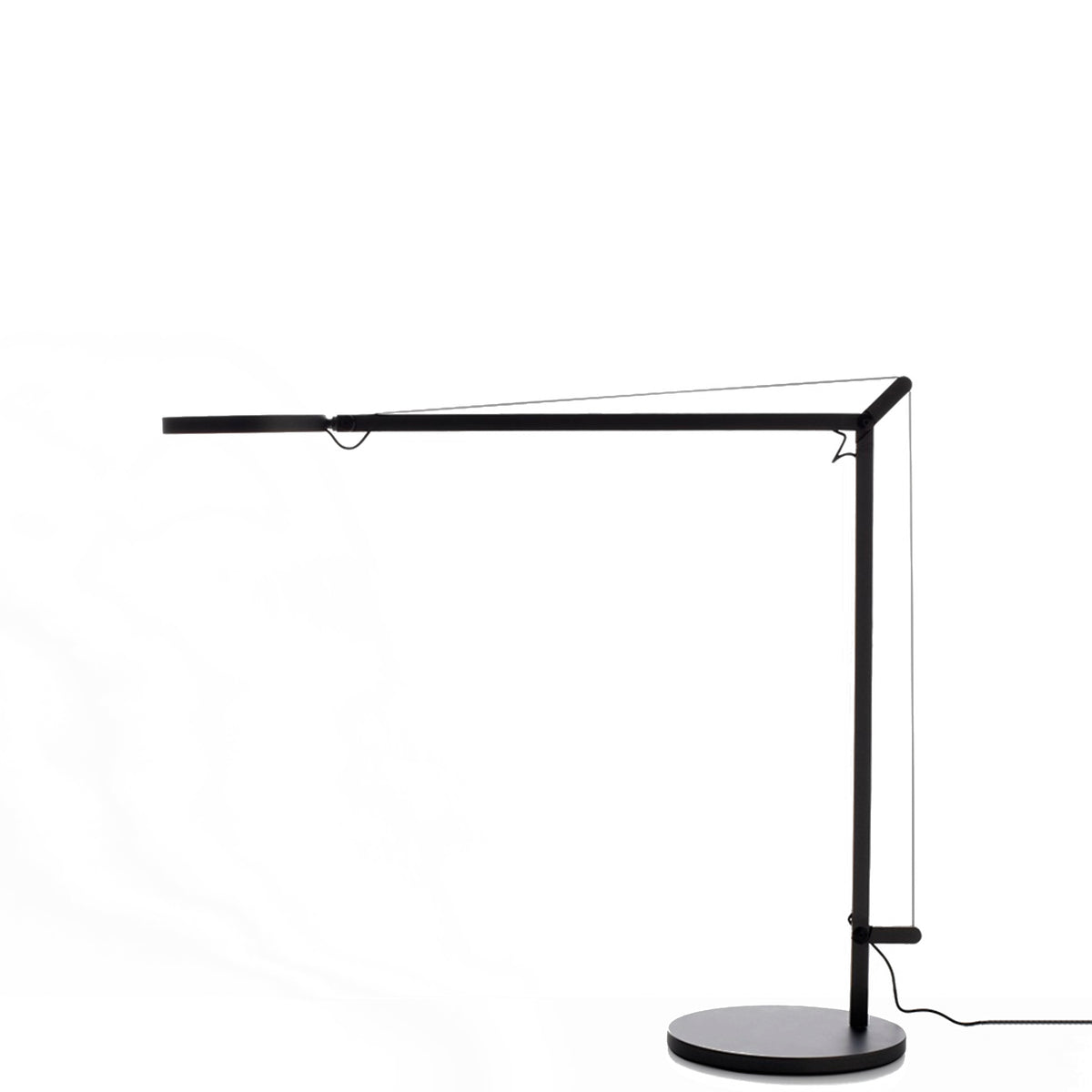 Artemide Demetra Table Task Light Opaque Black