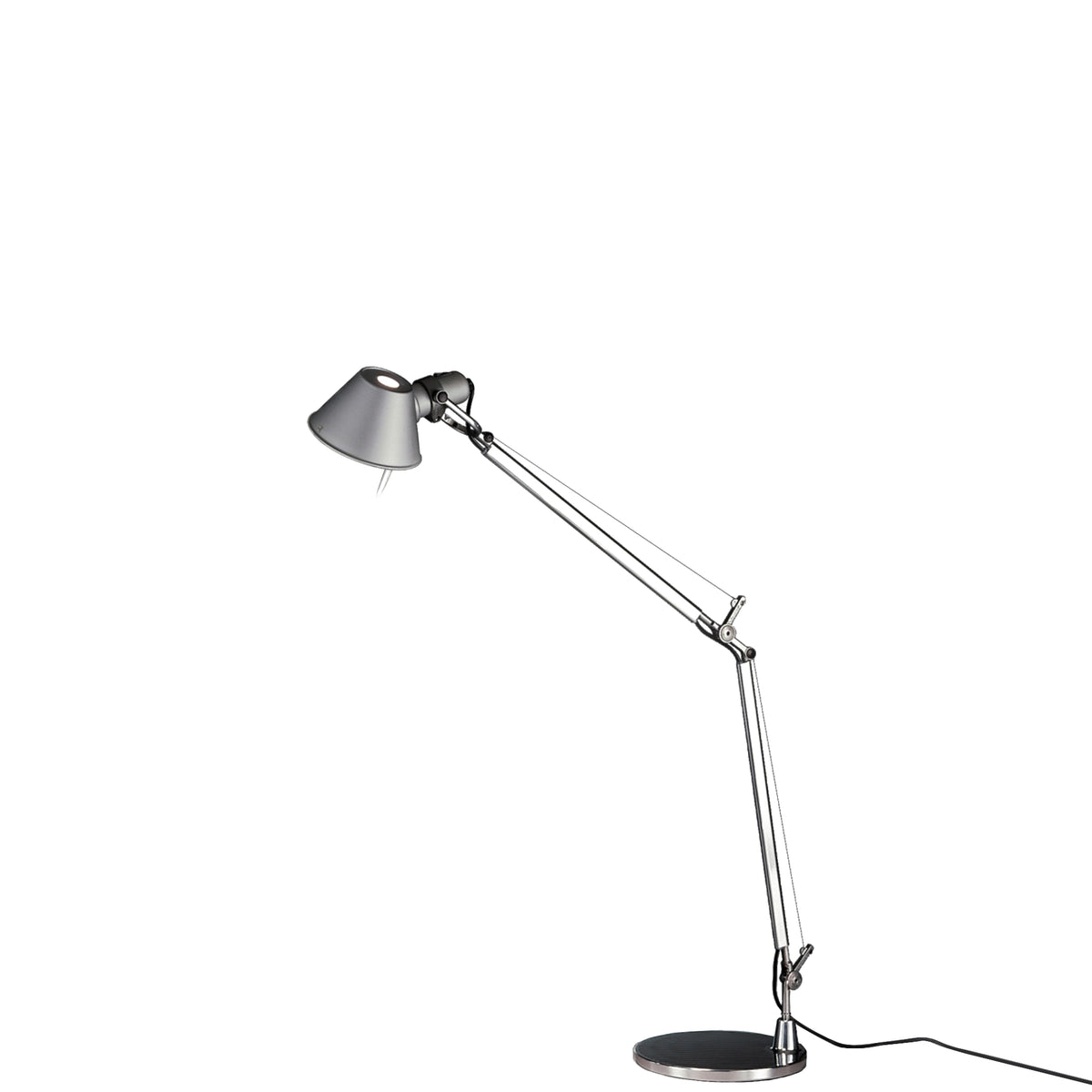 Artemide Aluminium Tolomeo Office Table Light with Presence Detector