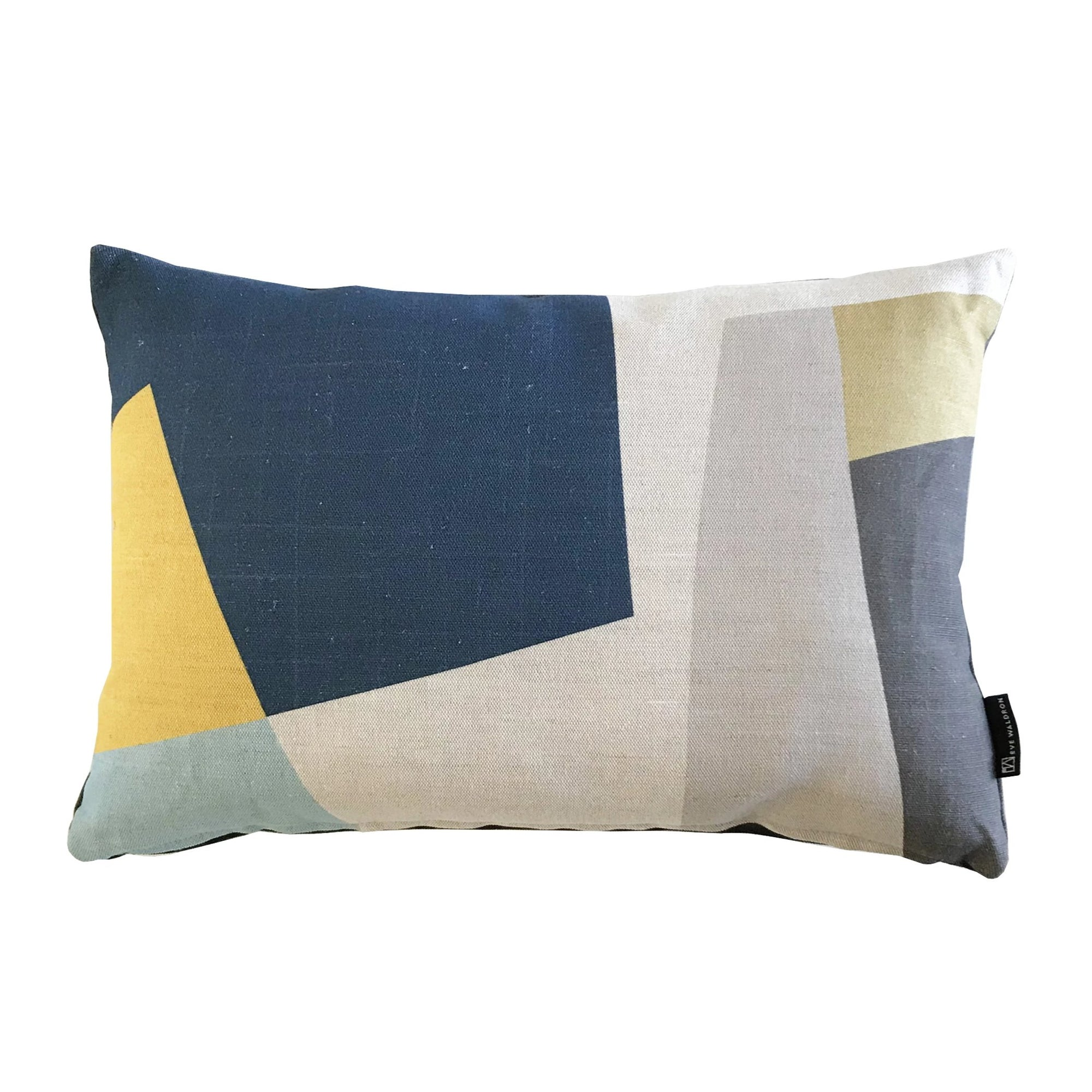Eve Waldron Design Office Cushion Blue Window 470 x 310mm
