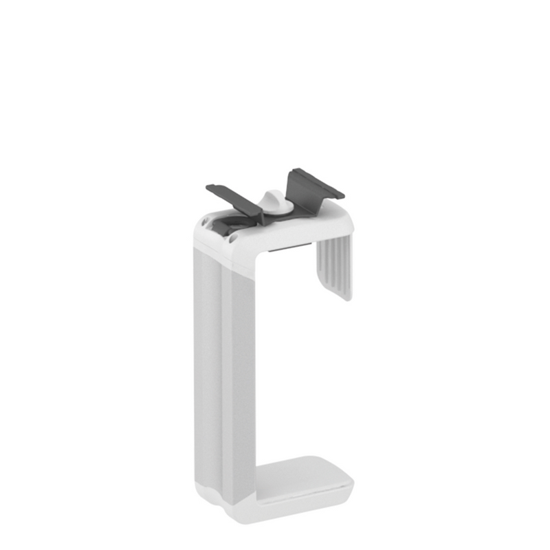 Elite CPU Holder Black and Brushed Aluminium
