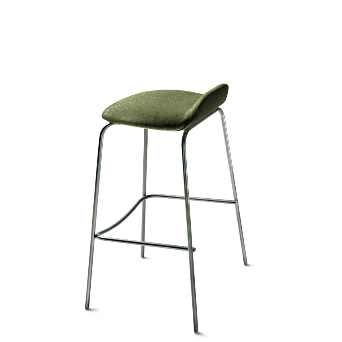 New Design Group Coffee Stool Fully Upholstered Low Back Camphill CUZ1K