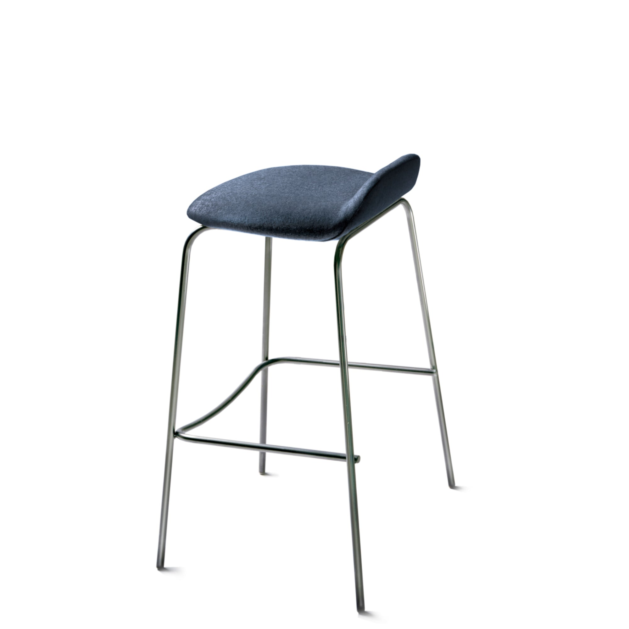 New Design Group Coffee Stool Fully Upholstered Low Back Edinburgh CUZ1Y