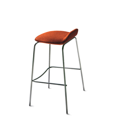 New Design Group Coffee Stool Fully Upholstered Low Back Goldsmith CUZ39