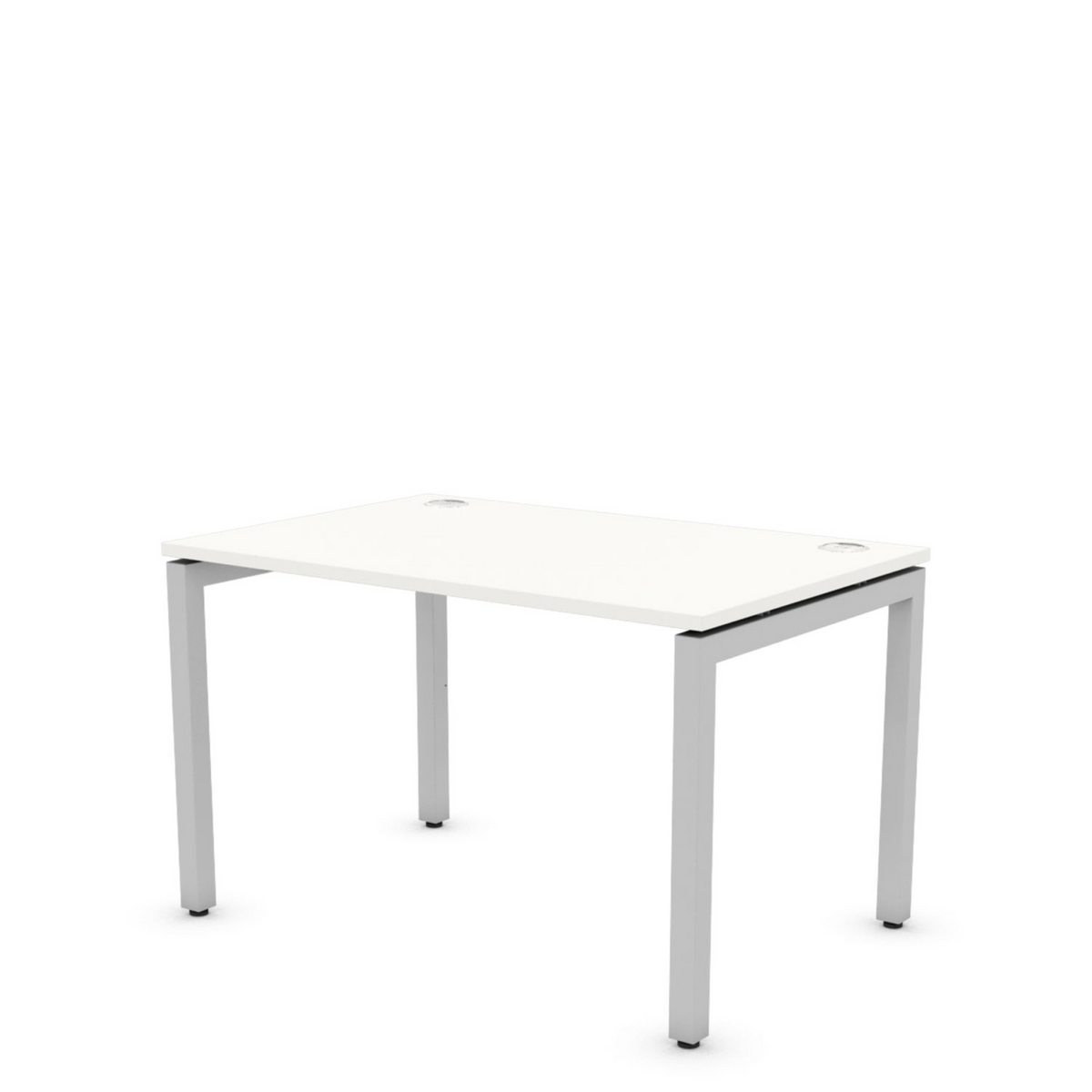 1200mm Small White Office Computer Desk