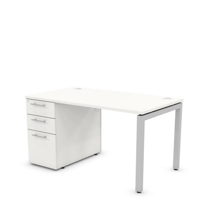 Desk with Drawers LH