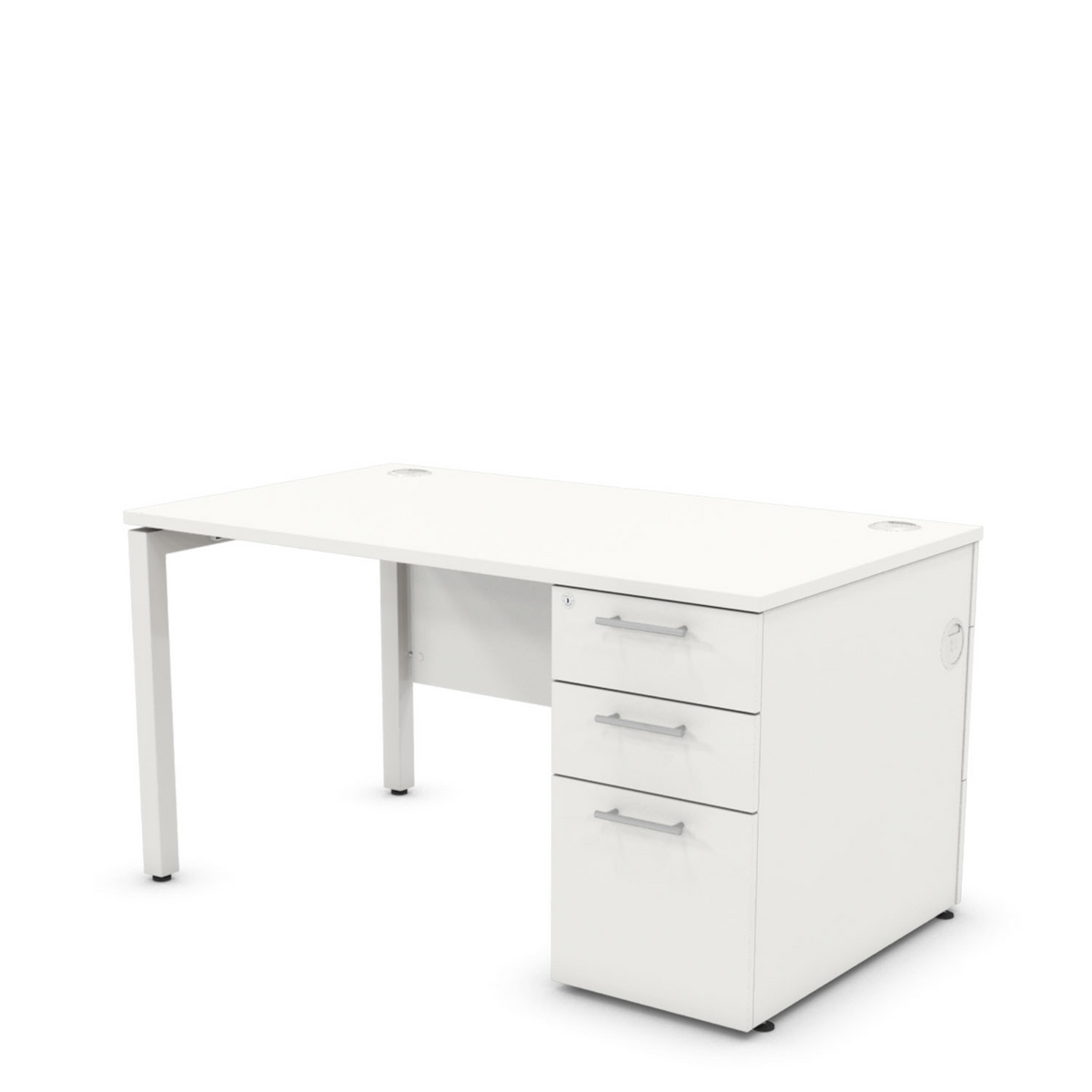 Desk with Drawers RH