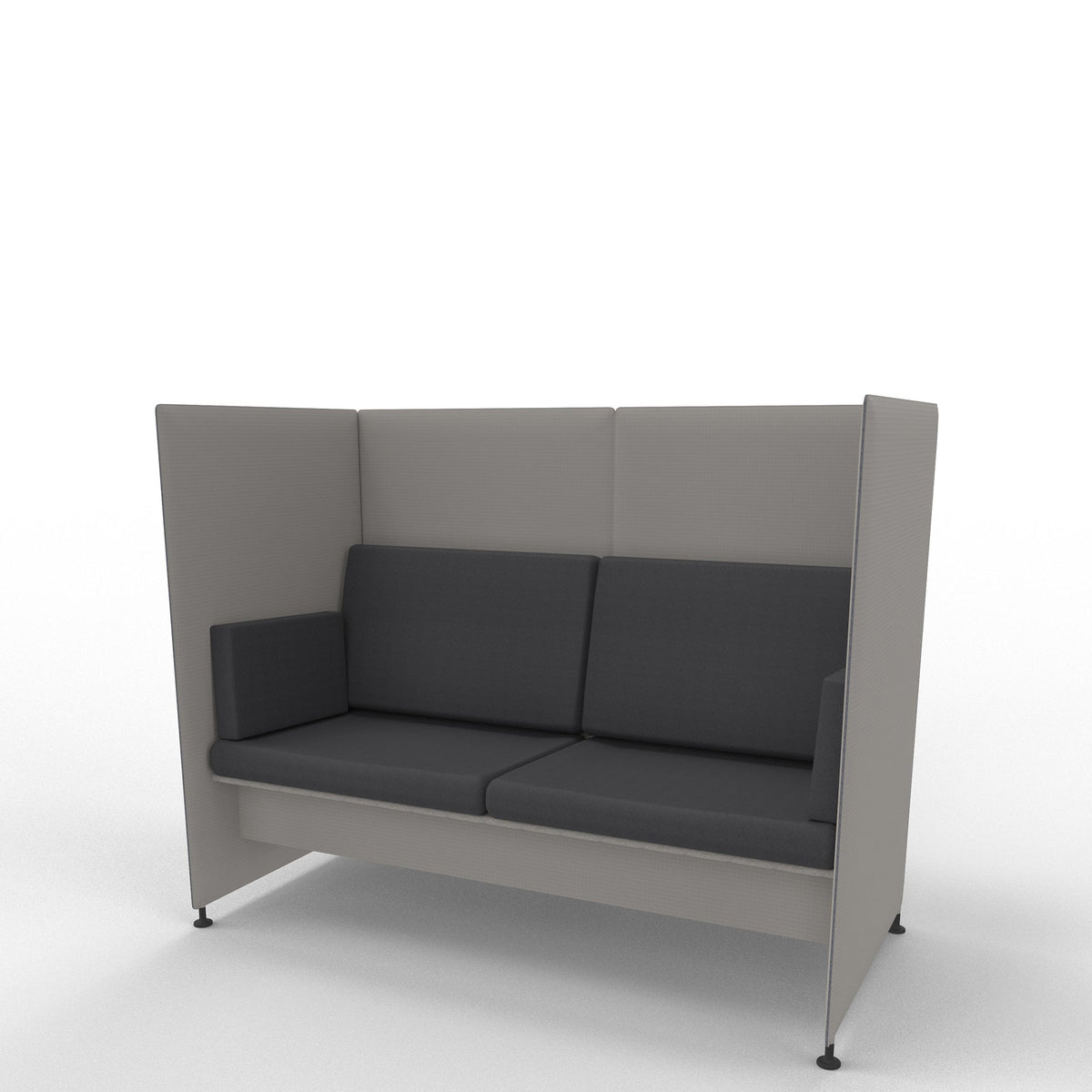 Edsbyn Ease Sofa Pod with Graphite Cushions