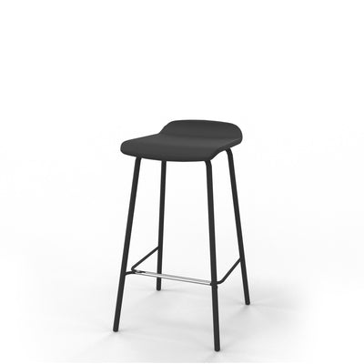 Edsbyn Office Upholstered Stool 650mmH Black