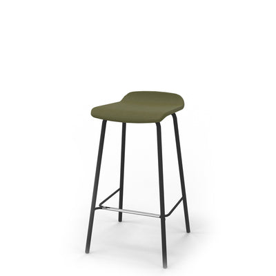 Edsbyn Office Upholstered Stool 650mmH Olive