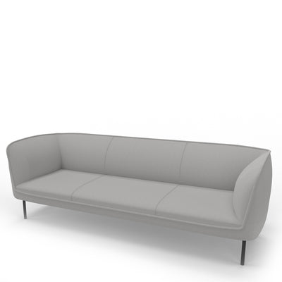 Edsbyn Gather 3 Seater Sofa Silver