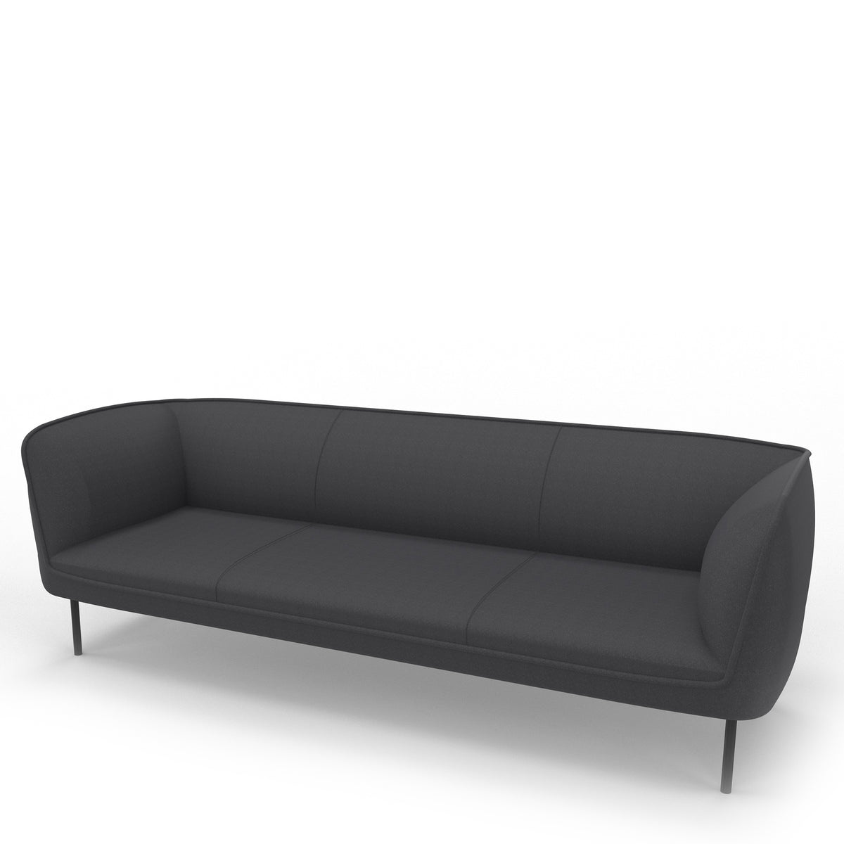 Edsbyn Gather 3 Seater Sofa Graphite