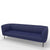 Edsbyn Gather 3 Seater Sofa Royal Blue