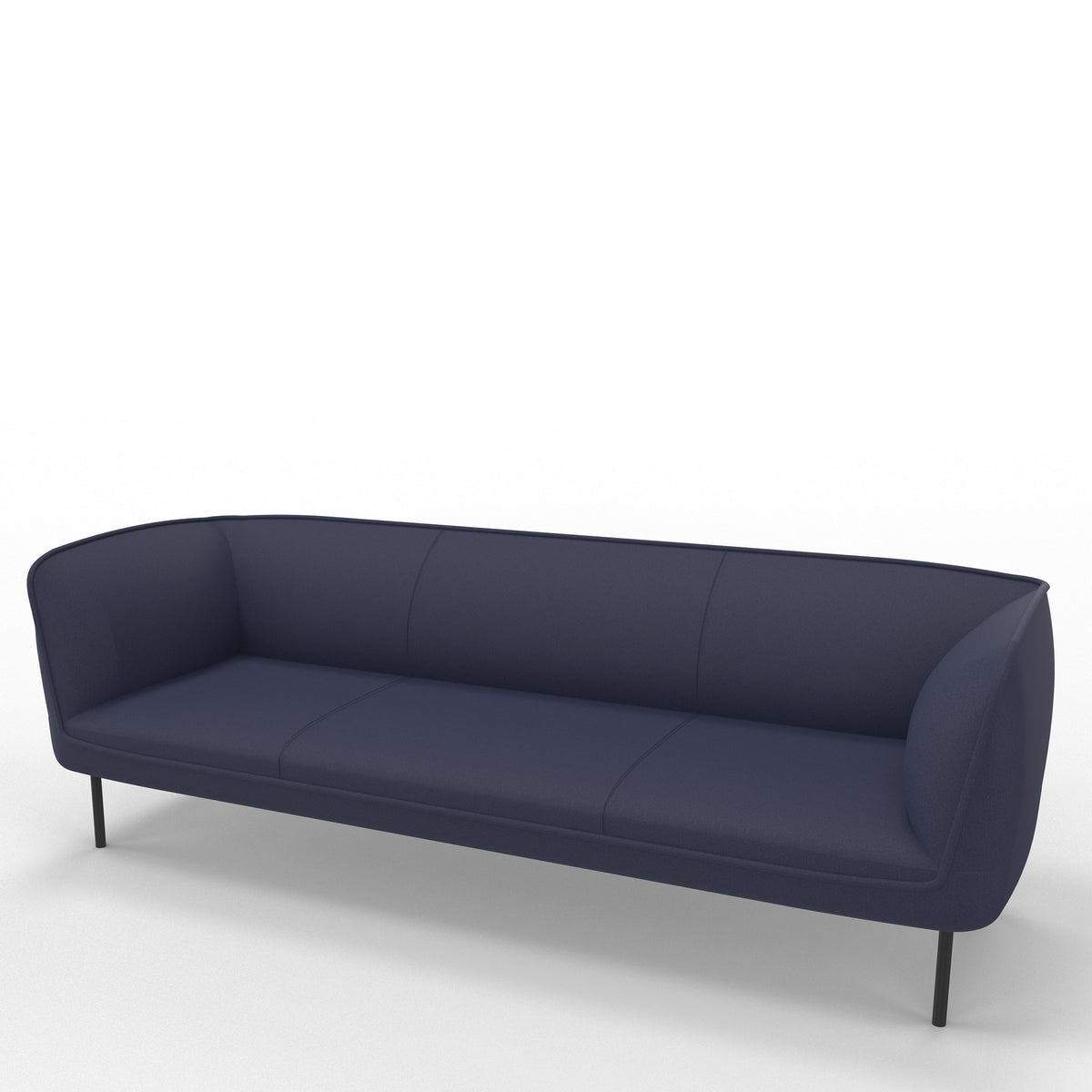 Edsbyn Gather 3 Seater Sofa Indigo