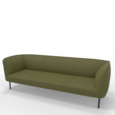 Edsbyn Gather 3 Seater Sofa Olive