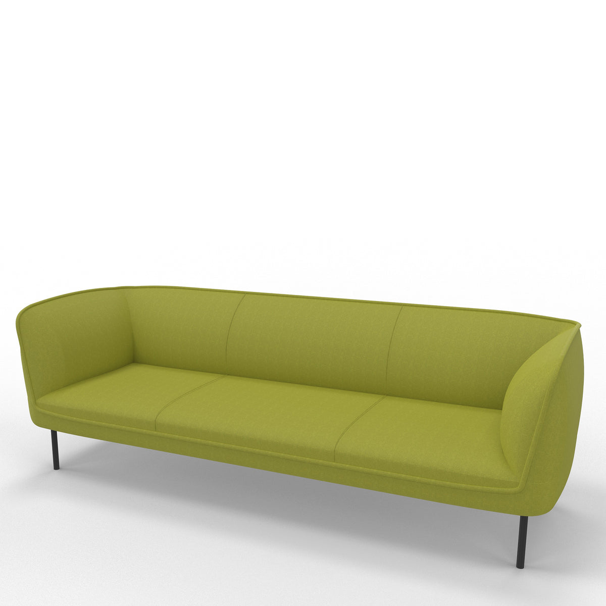 Edsbyn Gather 3 Seater Sofa Pear