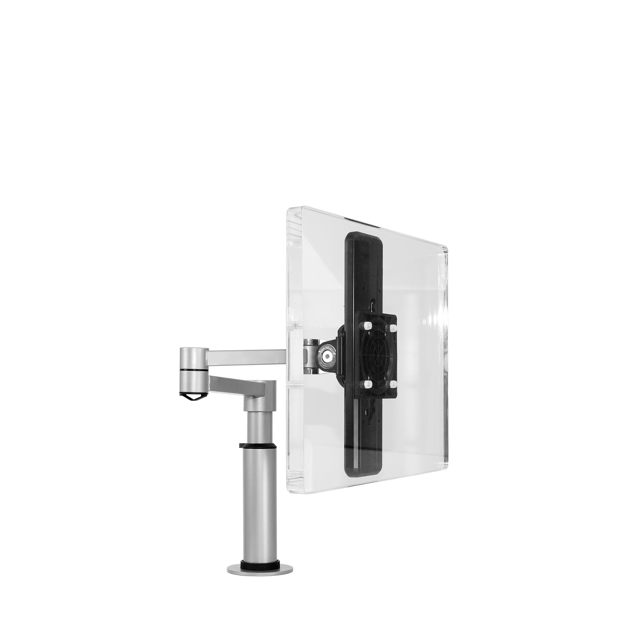 Elite Flex Monitor Arm Silver