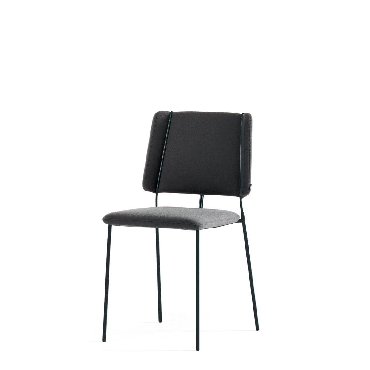 Johanson Design - Frankie Stackable Chair - Set of Four - Graphite Black - Set of Four