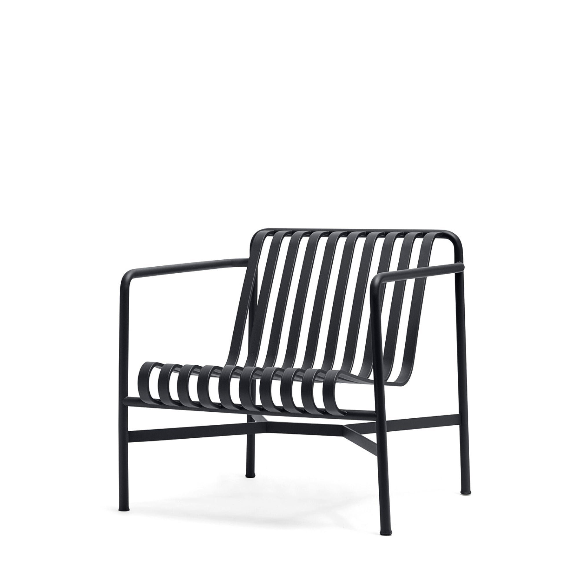 HAY Palissade Lounge Chair Low Office Anthracite