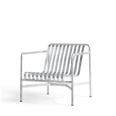 HAY Palissade Lounge Chair Low Office Galvanised