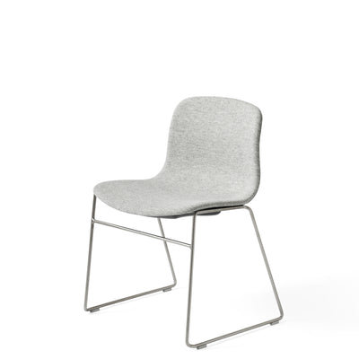 HAY About A Chair AAC 09 Stackable Chair, Stainless Steel Base