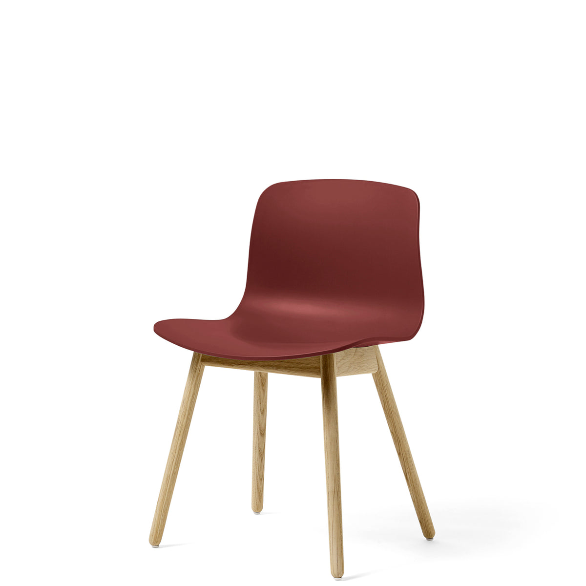 HAY About A Chair AAC12 Brick Chair with Matt Lacquered Solid Oak Frame