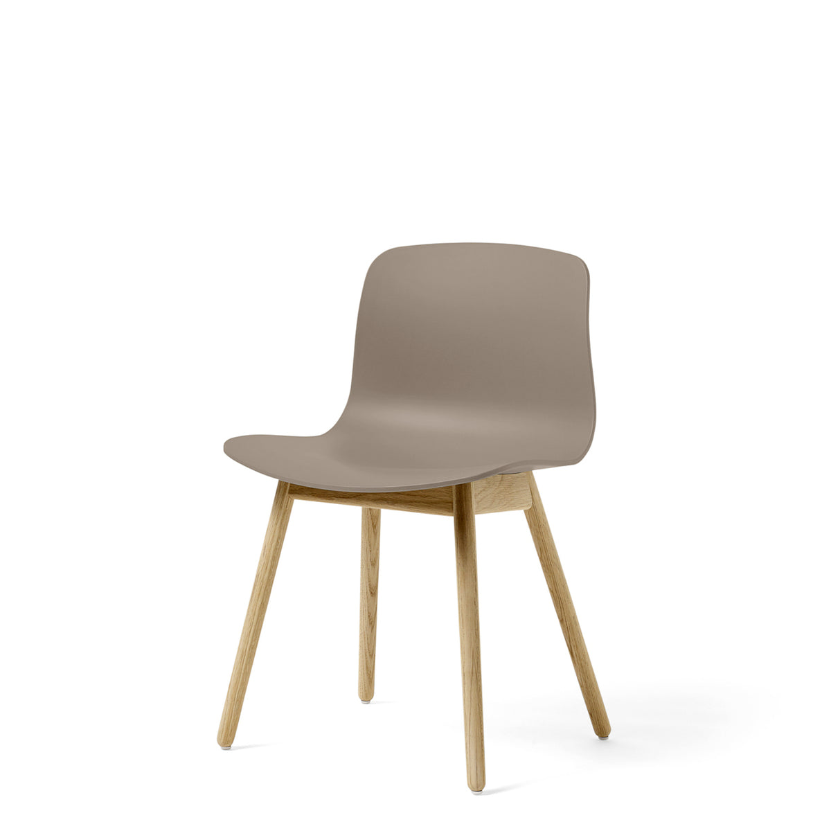 HAY About A Chair AAC12 Khaki Chair with Matt Lacquered Solid Oak Frame