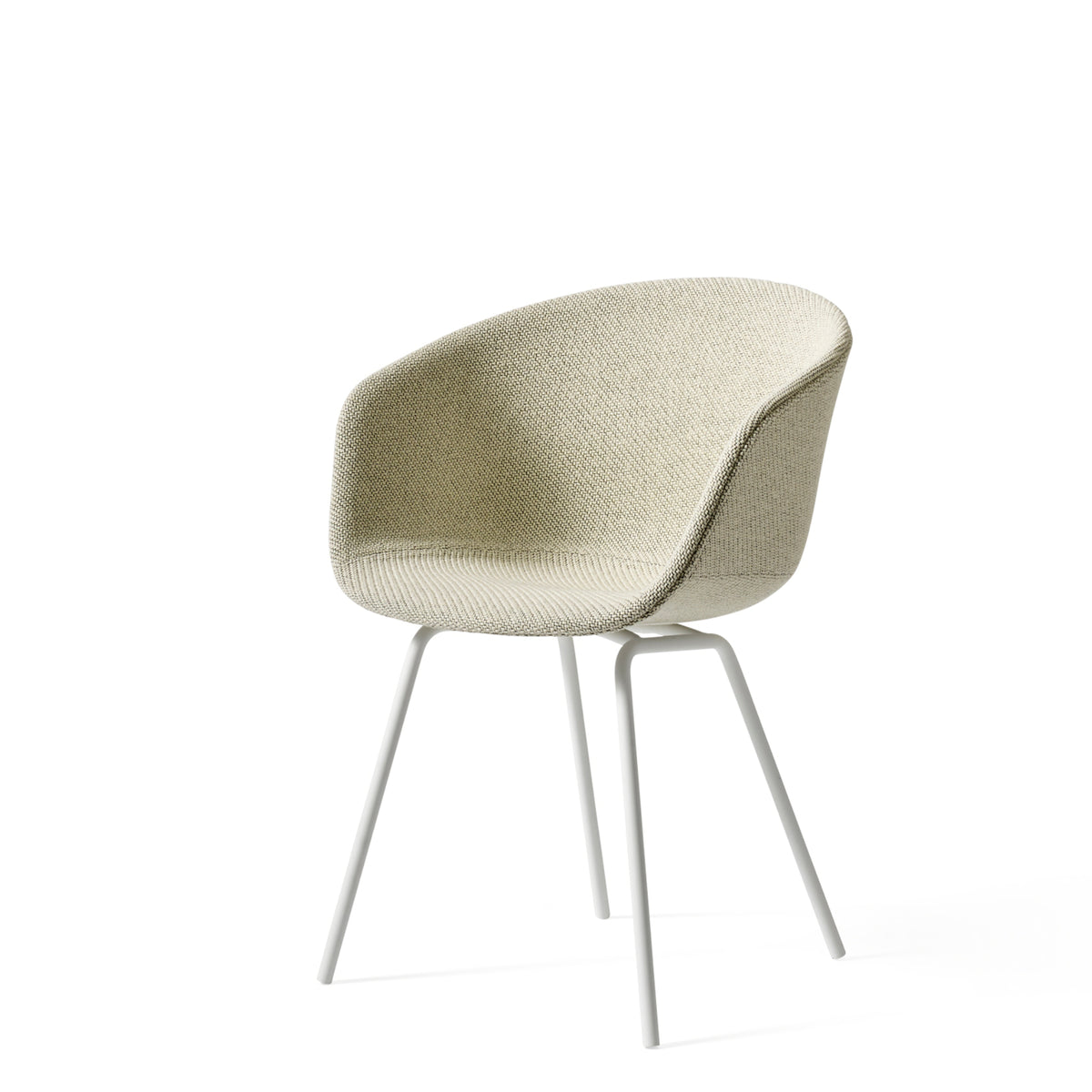 HAY Office About a Chair AAC27, Fabric Upholstery Coda with White Base