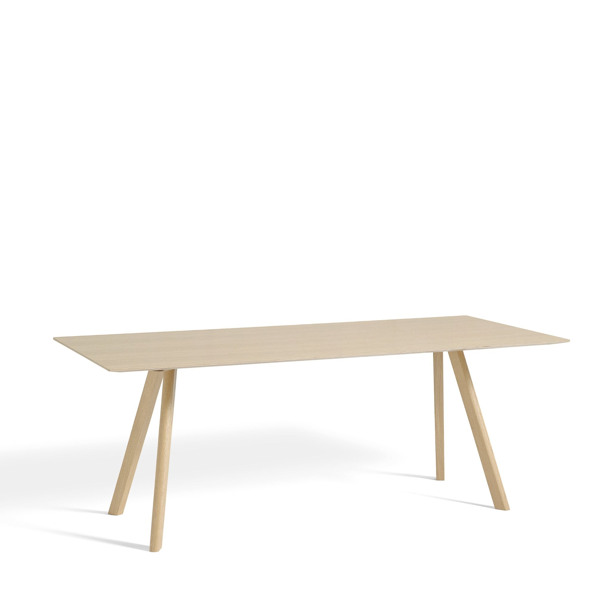 HAY CPH 30 Table 2000mm with Matt Lacquered Oak Base