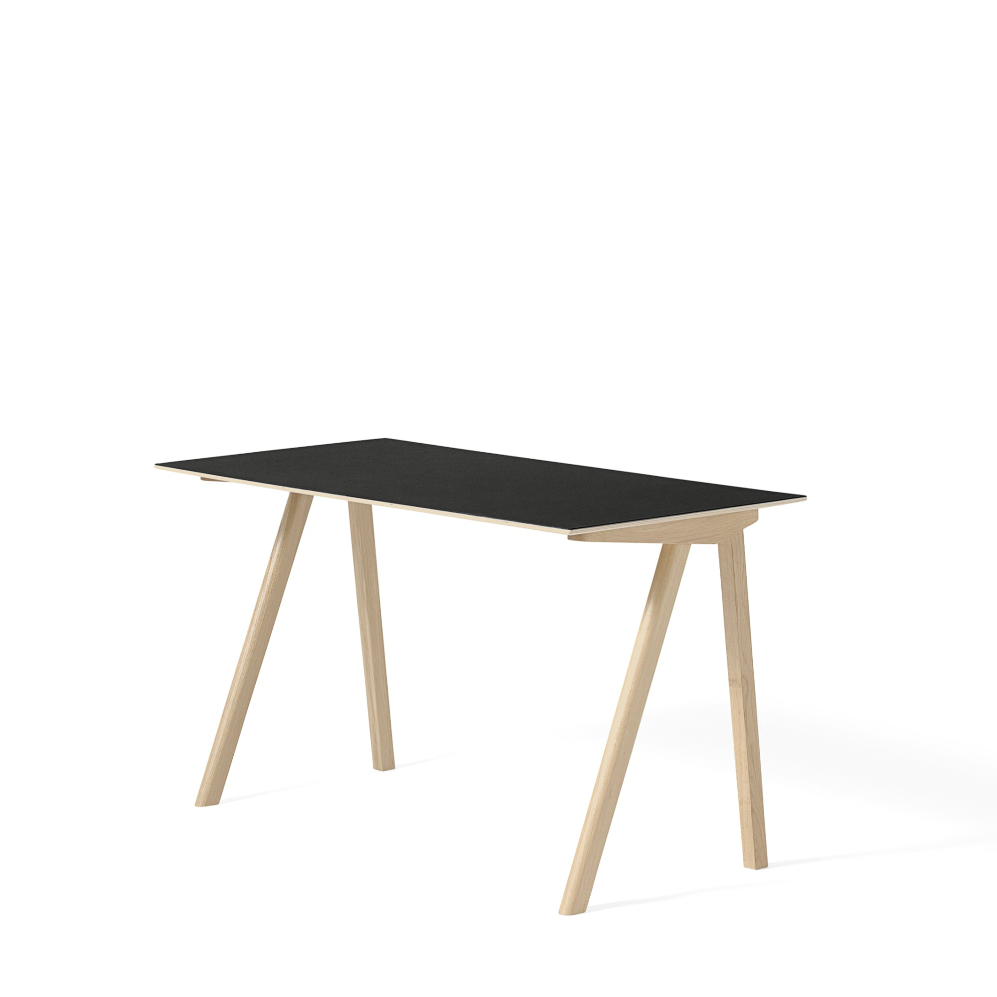 HAY CPH 90 Desk Forbo Nero 4023