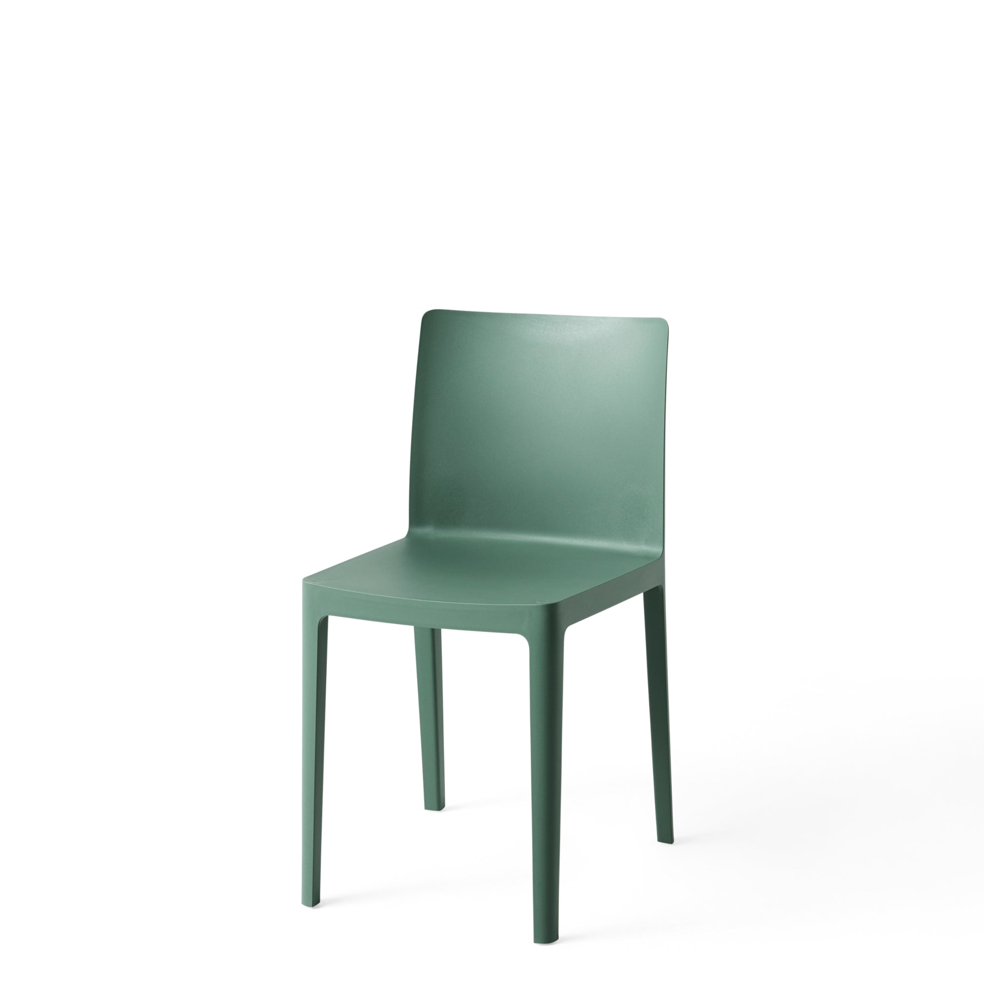 HAY Office Pair of Élémentaire Chairs Smokey Green