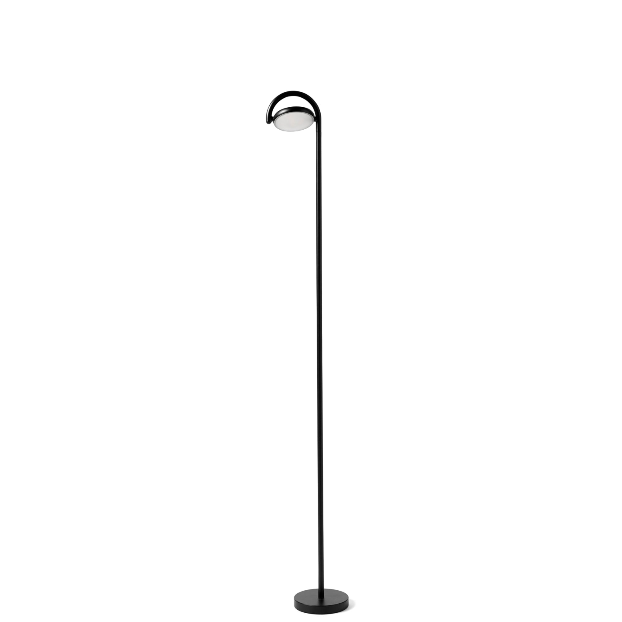 HAY Marselis Floor Lamp Soft Black Marselis