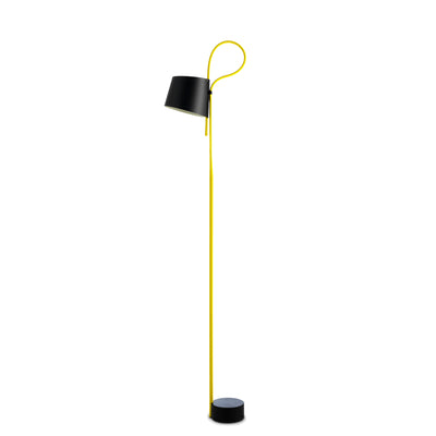 HAY Office Yellow Rope Trick Floor Lamp