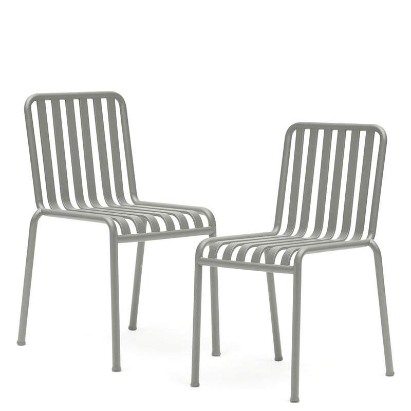 HAY Office Pair of Palissade Chairs Anthracite