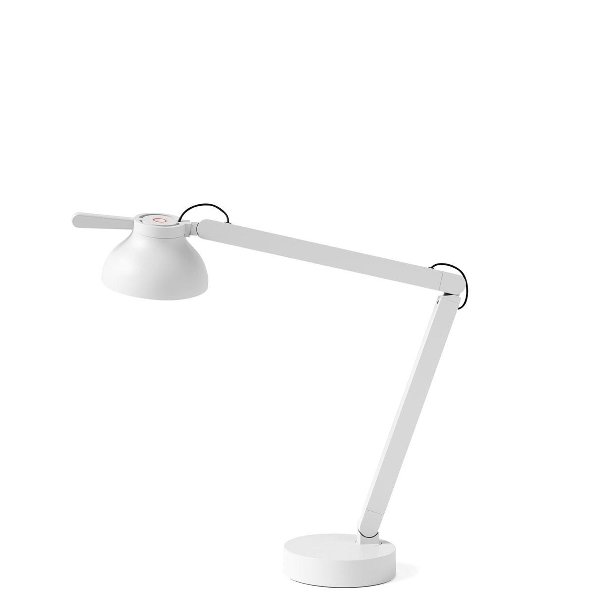HAY Office PC Double Arm Task Light Ash Grey