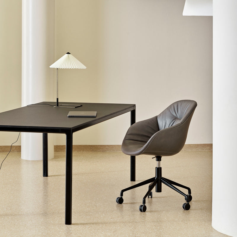 HAY Office T12 Desk 1600mm - Black