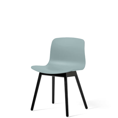 HAY About A Chair AAC12 Dusty Blue with Black Stained Solid Oak Frame