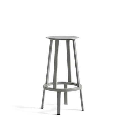 HAY Office Revolver Bar Stool Sky Grey Revolver