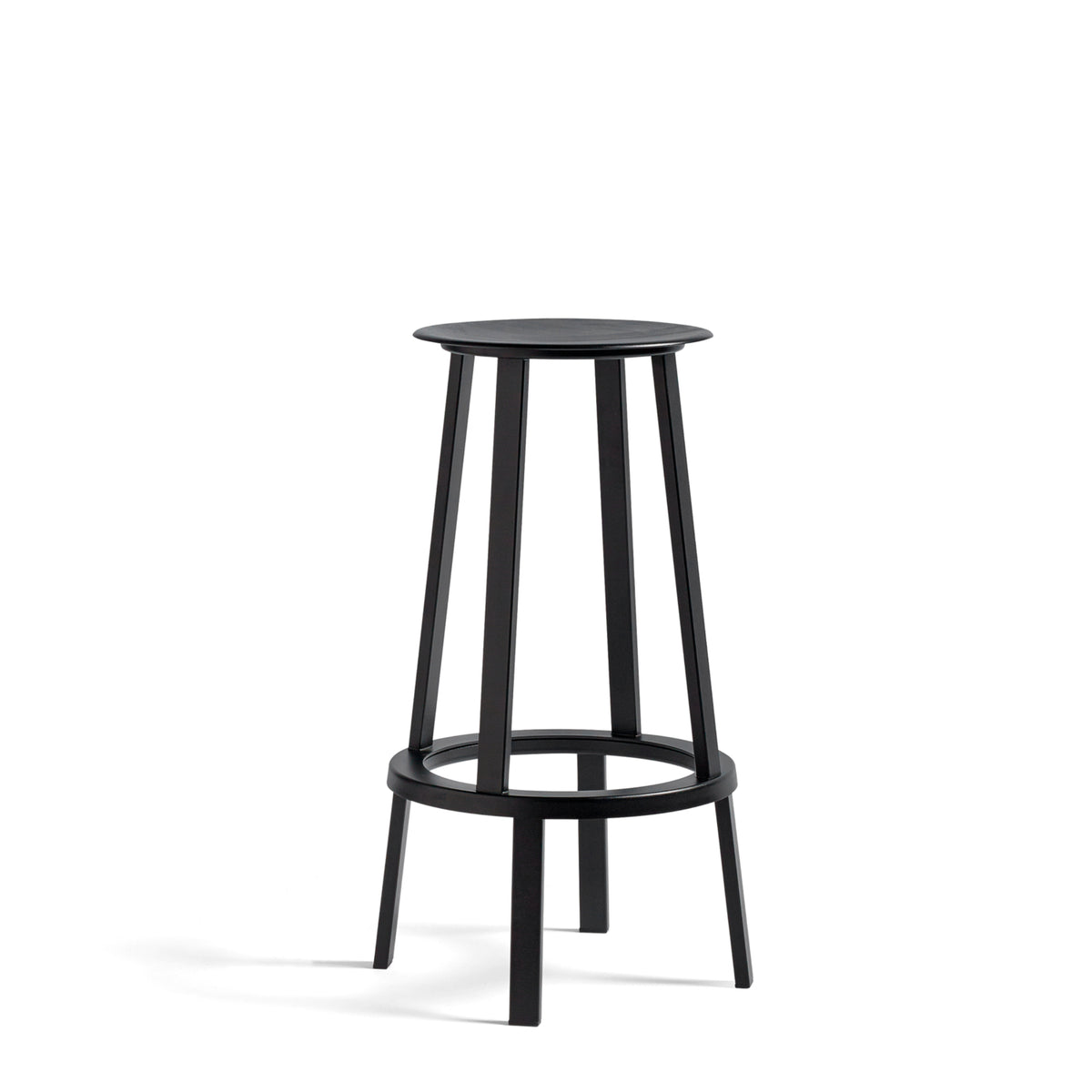HAY Office Revolver Bar Stool Black Revolver