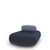 Hitch Mylius Office HM63a Pebble Navy Seat with Light Blue Black