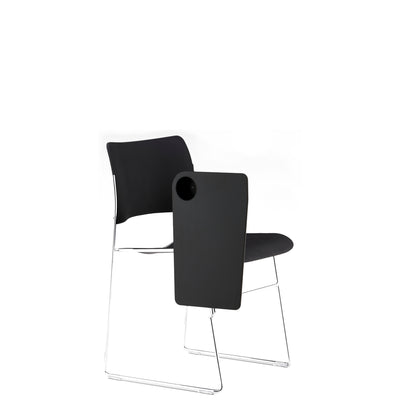 HOWE 40/4 Black Chair with Writing Tablet Options