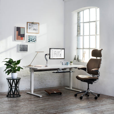Humanscale Office Float Sit Stand Work Desk