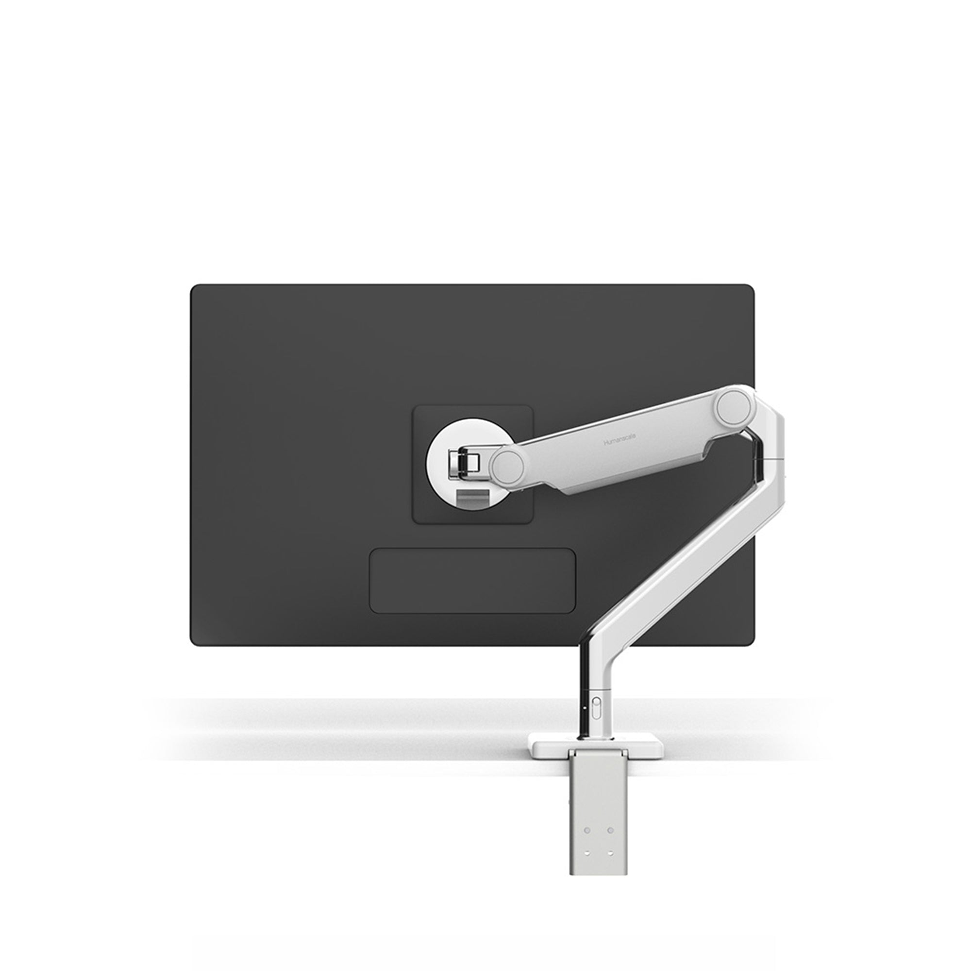 Humanscale Office Polished Aluminium M2.1 Monitor Arm