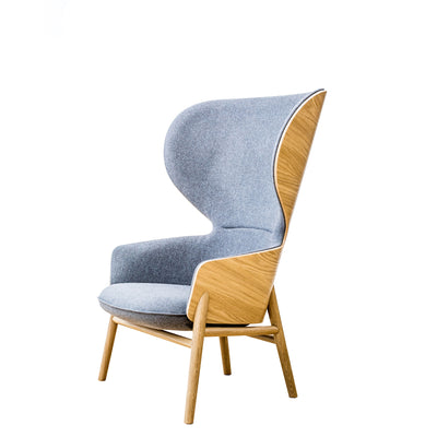 Connection Office Hygge High Back Oak Chair