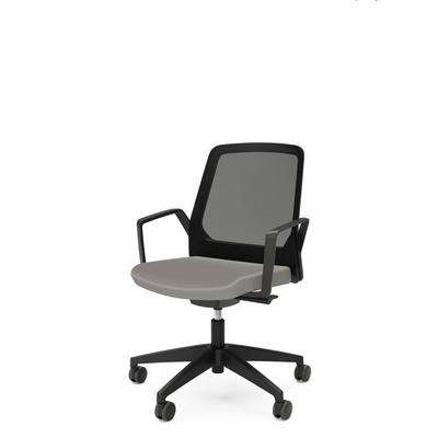 Interstuhl Buddy Conference Office Chair Grey Beige