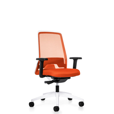 Interstuhl Office EVERYIS1 Office Task Chair 182E Deep Orange