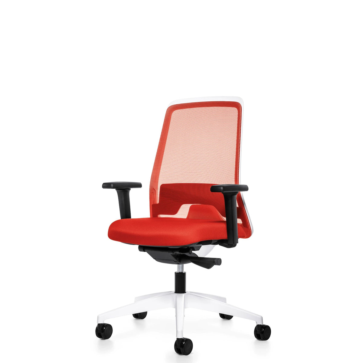 Interstuhl Office EVERYIS1 Office Task Chair 182E Raspberry Red