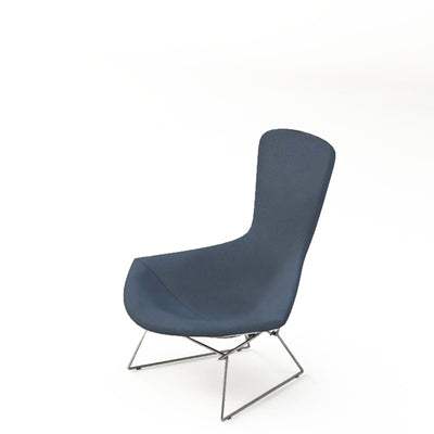 Knoll Bertoia Bird Lounge Chair Battleship Blue 764
